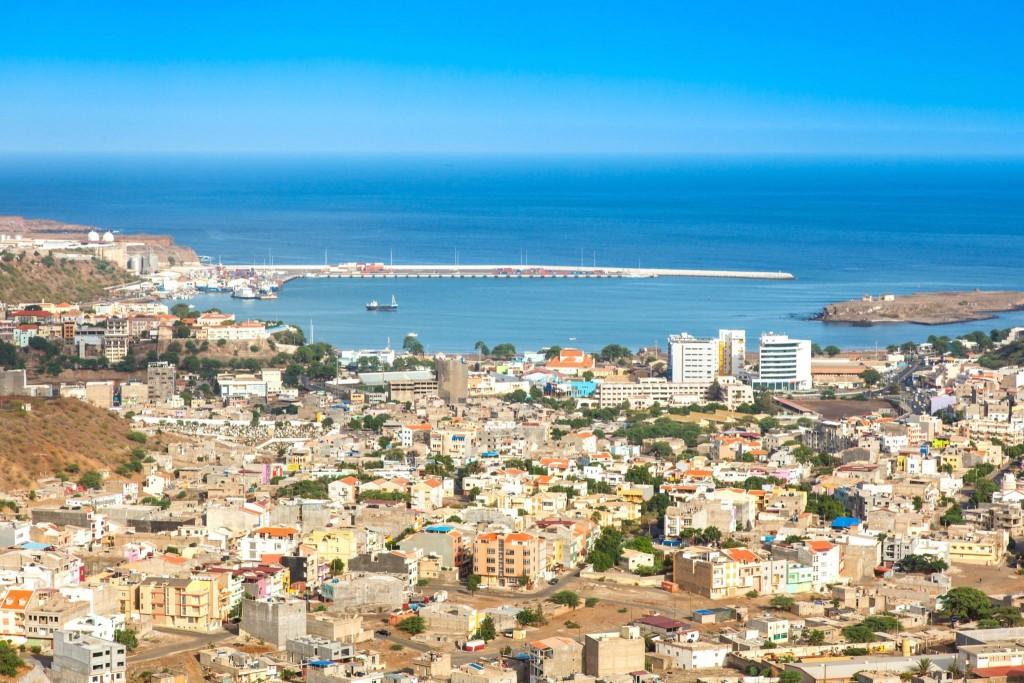 Hlavní město Kapverd Praia na ostrově Santiago