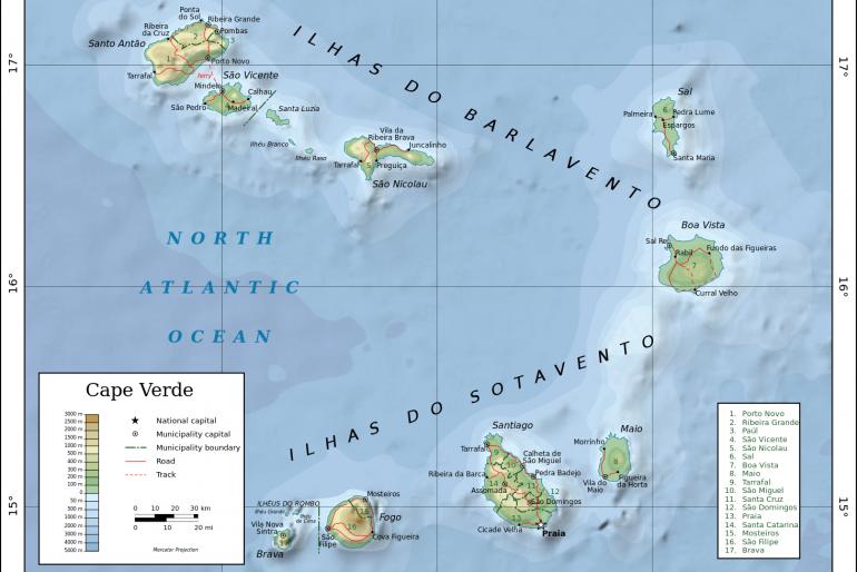 Základní informace o Kapverdských ostrovech