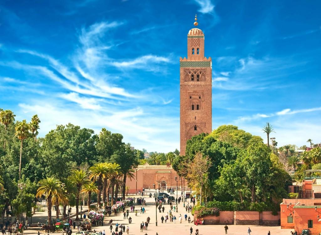 Náměstí v Marrákeši
