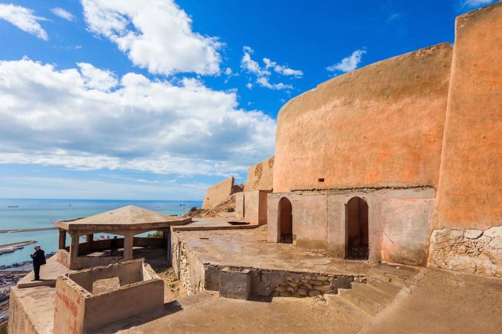 Pevnost (kasbah) města Agadir
