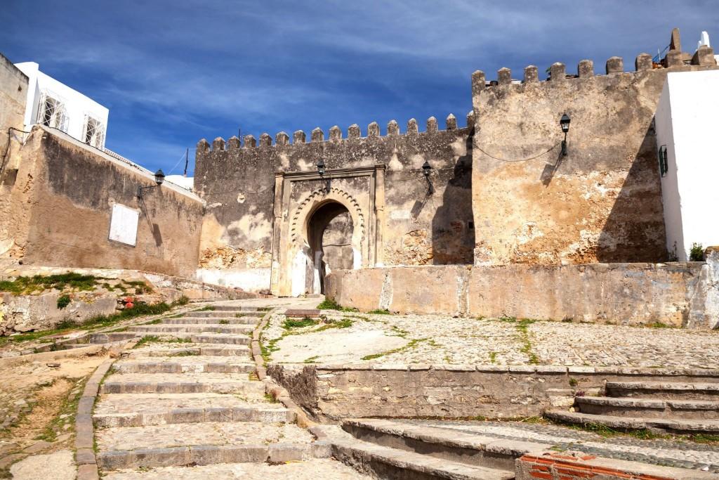 Pevnost (kasbah) ve městě Tangier