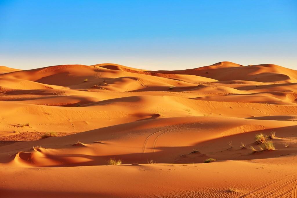 Písečné duny u Merzougy