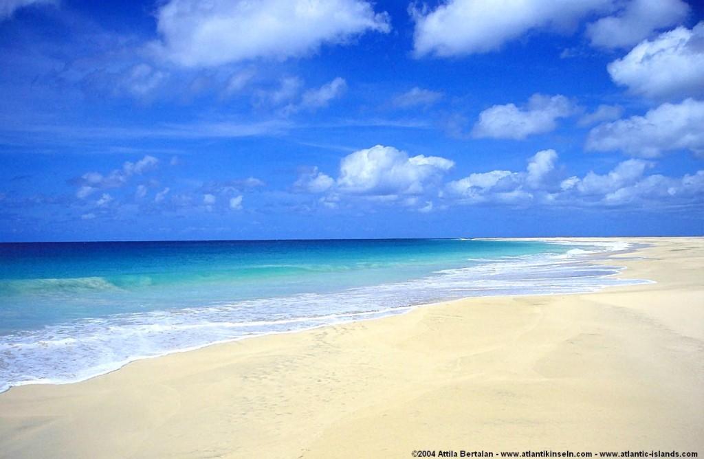 Pláž na ostrově Maio
