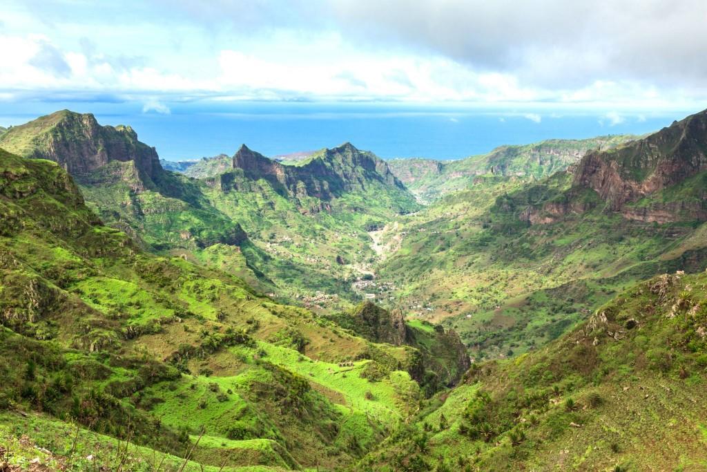 Pohoří Serra Malagueta na ostrově Santiago