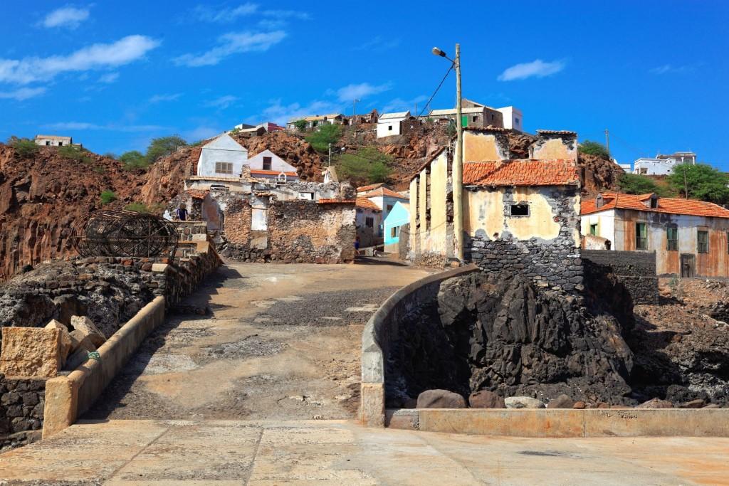 Rybářská vesnice Preguica na ostrově Sao Nicolau