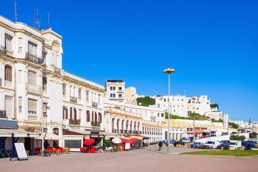 Ulice města Tangier