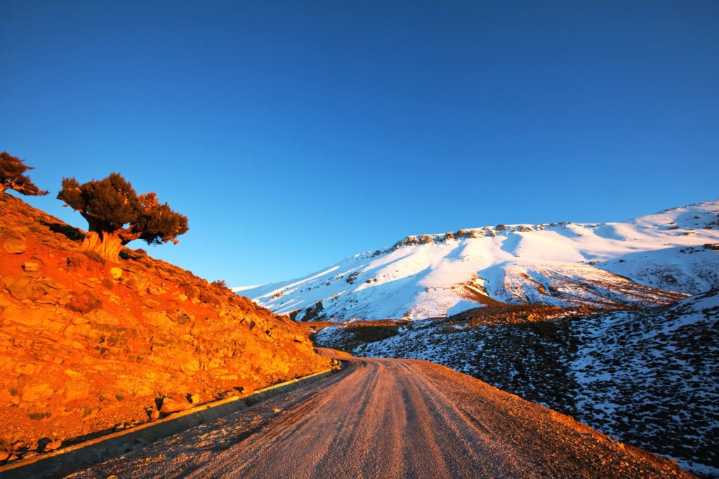 V pohoří Vysoký Atlas
