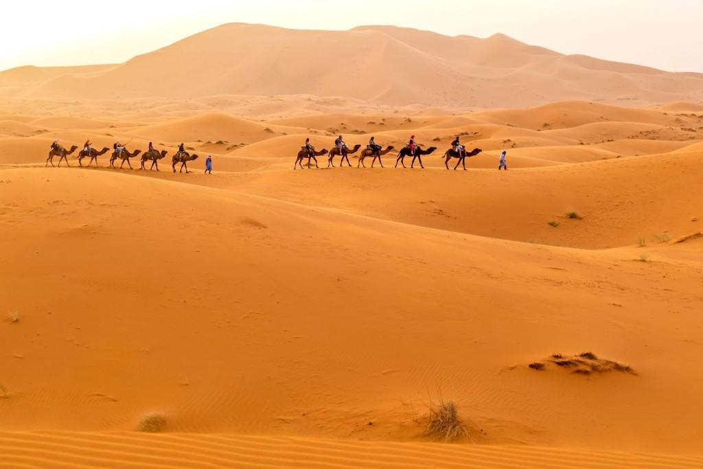 Výlet do pouště v oblasi Merzouga