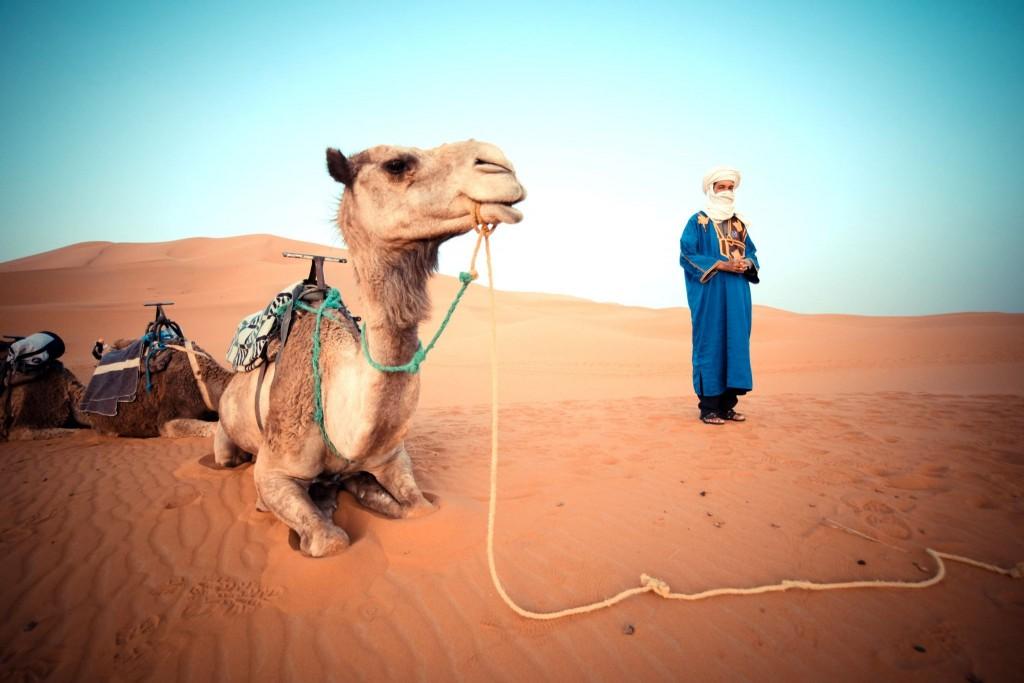 Výlet do pouště v okolí města Erfoud