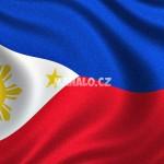 Vlajka Filipín - detailní