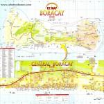 Mapa ostrova Boracay