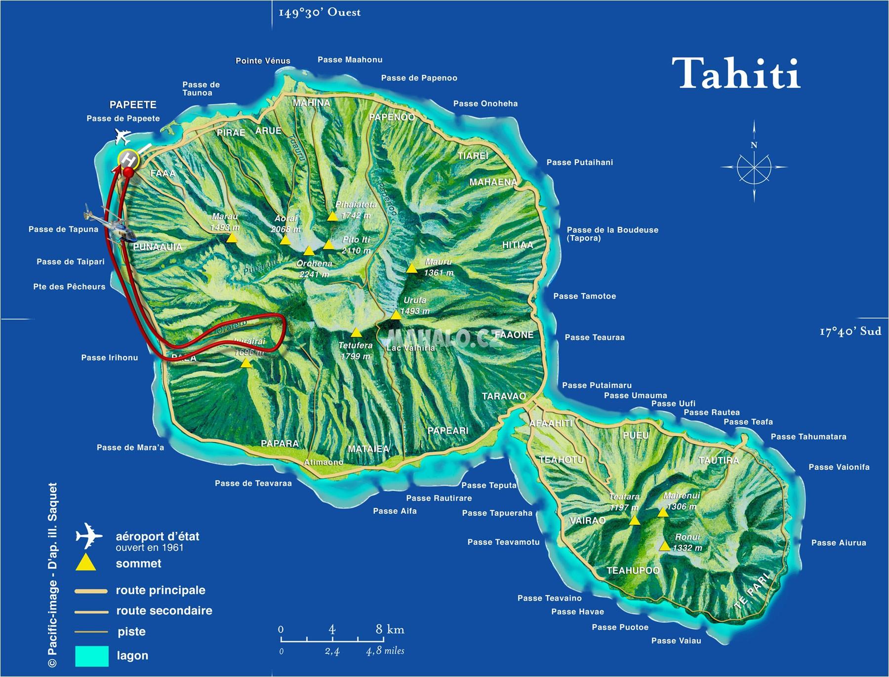 tahiti mapa sveta Stahujte materiály z Francouzské Polynésie | Francouzská Polynésie  tahiti mapa sveta