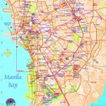 Mapa metra v Manile