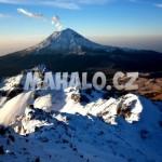 Mexické hory - Iztaccihuatl