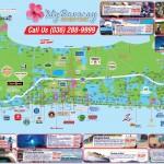 Plánek ostrova Boracay