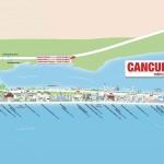 Plánek Cancún
