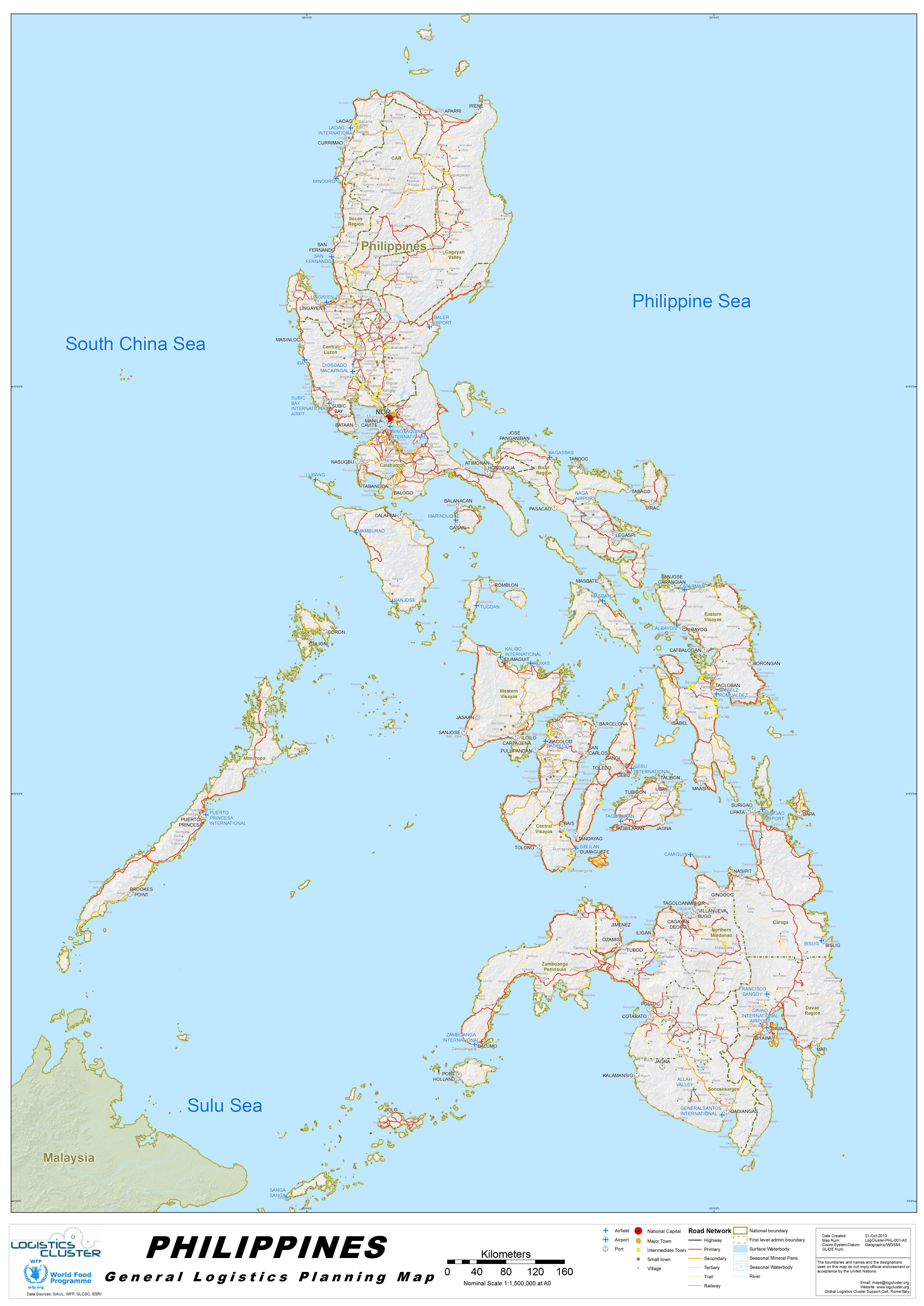 Plánek Filipín