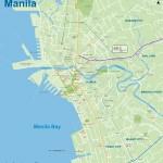 Plánek Manily