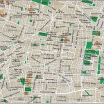 Plánek Mexico City