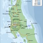 Plánek Zanzibaru