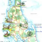 Plánek ostrova Zanzibar