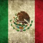 Mexická vlajka - detailní