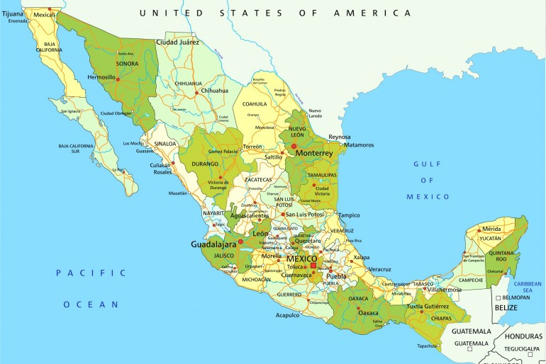 Základní informace o Mexiku