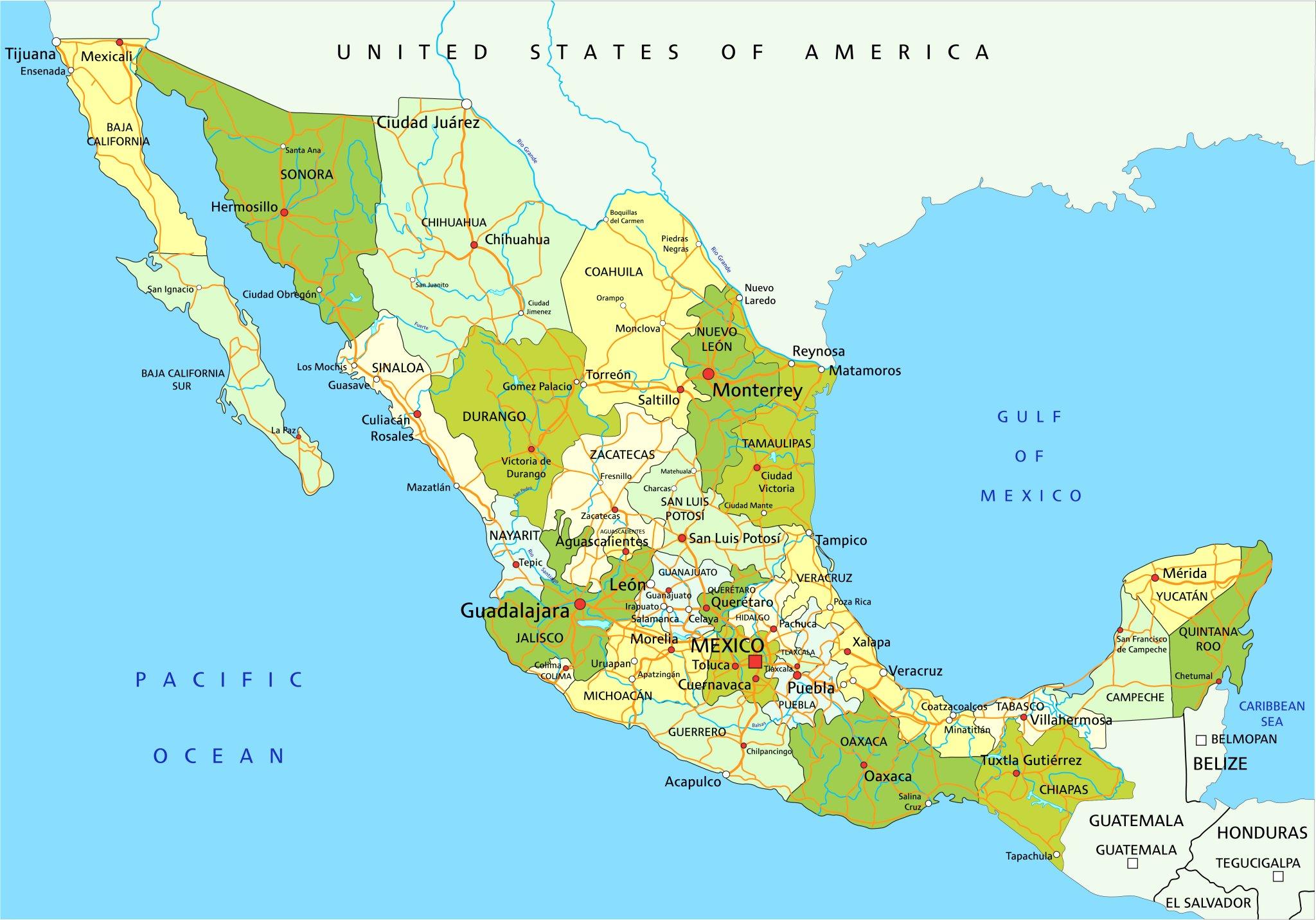 Zakladni Informace O Mexiku Mexiko Mahalo Cz