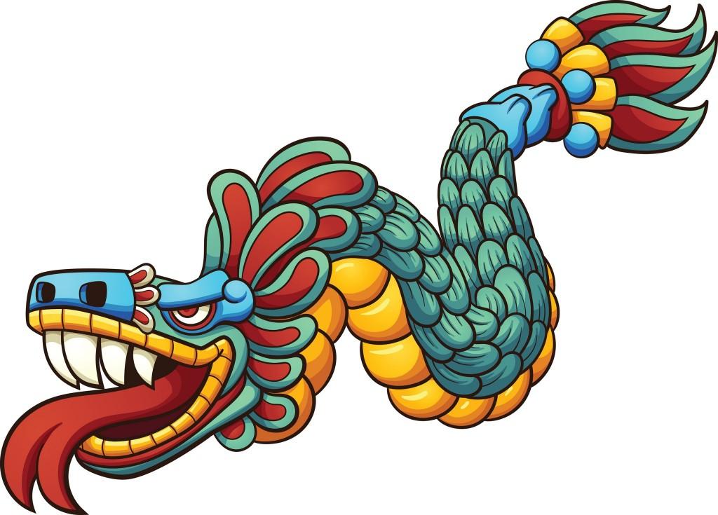 Bůh Quetzalcoatl