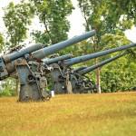 Dělostřelecké baterie na ostrově Corregidor