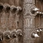 Detail zanzibarských dveří