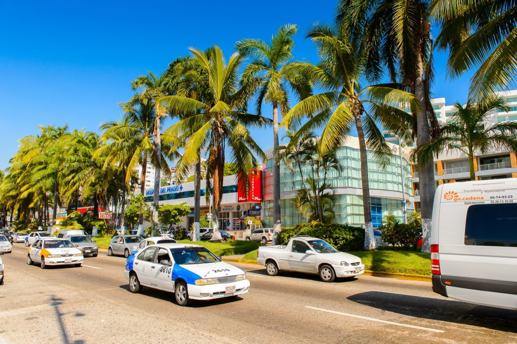 Doprava v Mexiku (Acapulco)