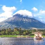 Filipínský vulkán Mayon