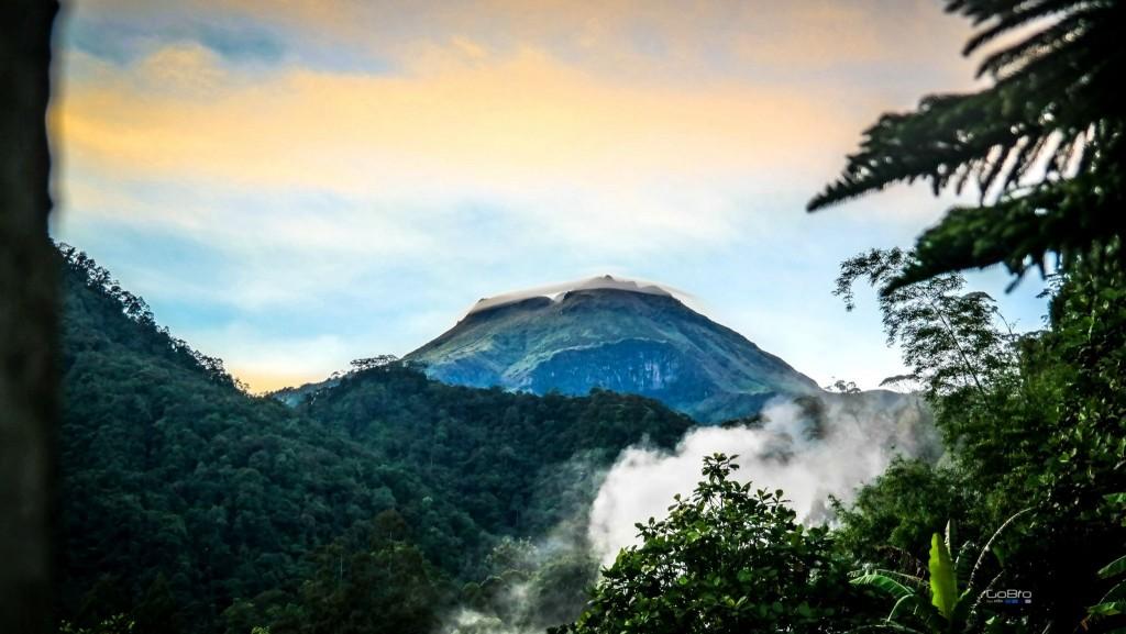 Hora Apo na ostrově Mindanao