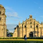 Kostel v Paoay je součástí světového dědictví UNESCO
