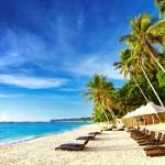 Krásná pláž na ostrově Boracay