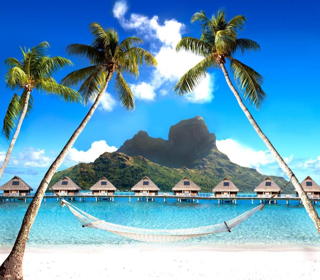 Luxusní výhled na Mt. Otemanu na Bora Bora