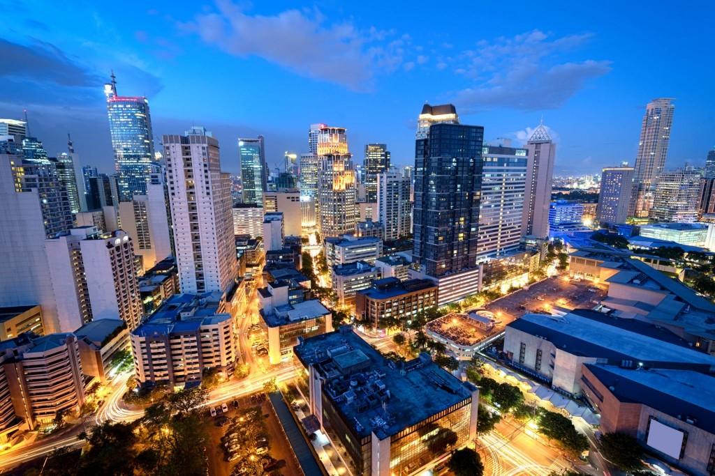 Manila a její finanční centrum Makati