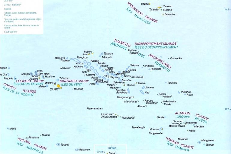 Základní informace o Francouzské Polynésii