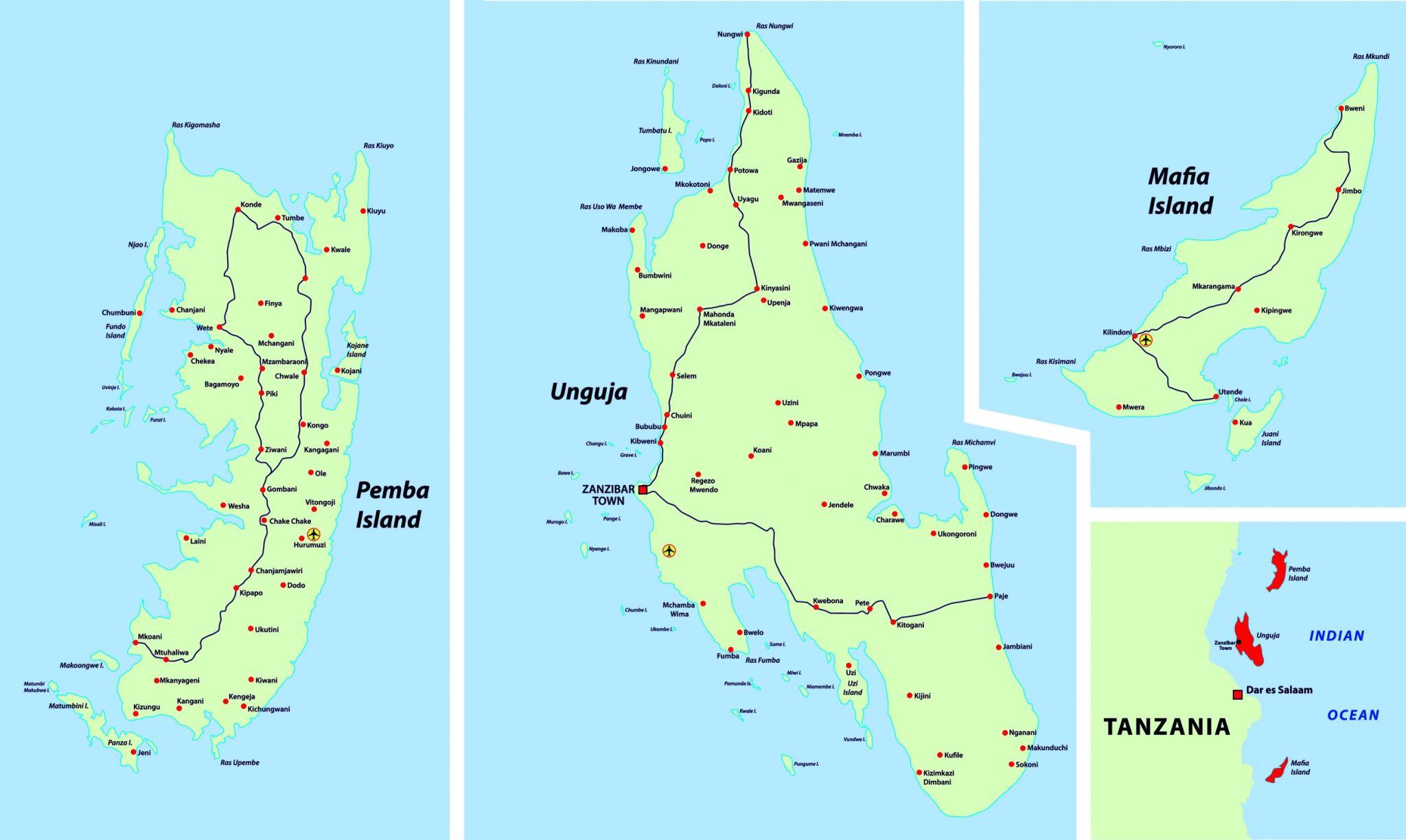 Zakladni Informace O Zanzibaru Zanzibar Mahalo Cz