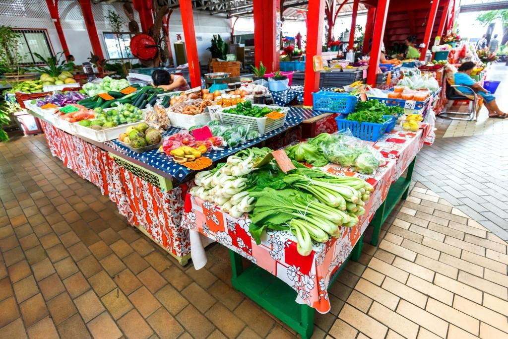 Marché de Papeete - základ (nejen) polynéské kuchyně