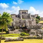 Mayské ruiny v Tulum