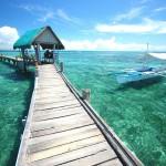 Molo na ostrově Mactan