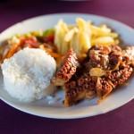 Mořské plody (zde chobotnice) jsou na Zanzibaru velmi vyhledávané