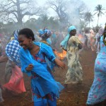 Oslava dne rybářů na Zanzibaru