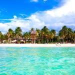 Pláž na Isla Mujeres