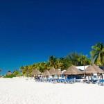Pláž v Cancúnu