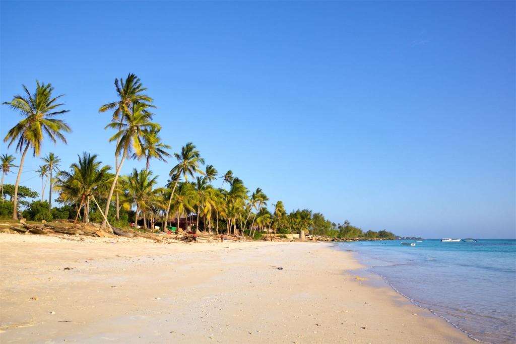 Pláž v Kizimkazi