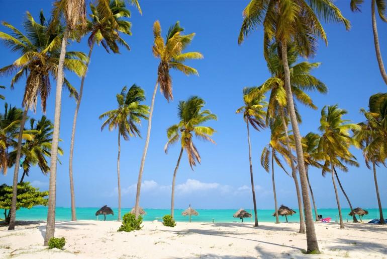 Pláž v Paje