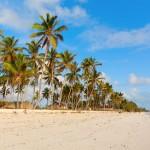 Pláž v Uroa